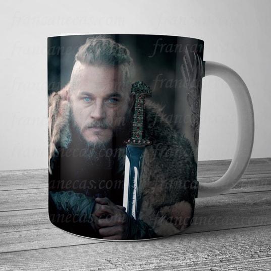 Caneca Personalizada Vikings Ragnar Lothbrok