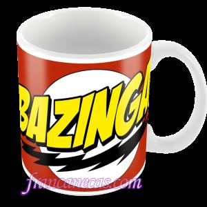 caneca personalizada bazinga
