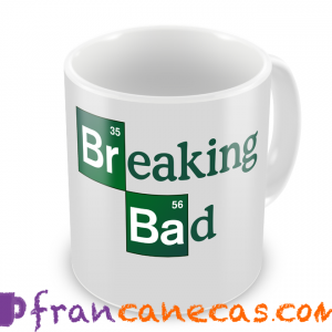 caneca personalizada breaking bad