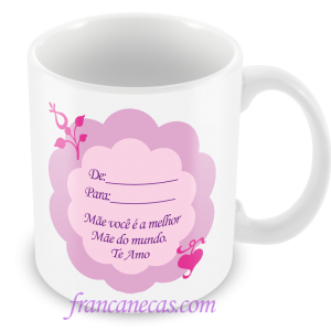 Caneca Personalizada Dia das Mães #0
