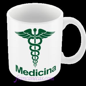 caneca personalizada medicina