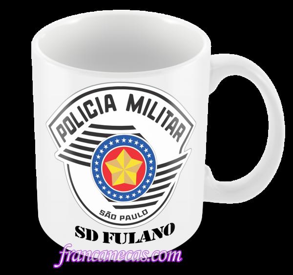 Caneca Personalizada Policial Militar SP - Francanecas.com - Canecas ... 07015980ac6