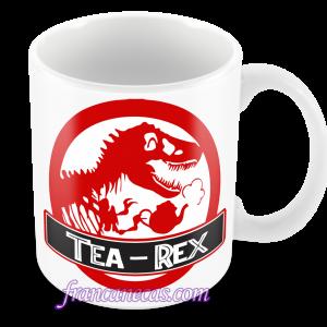 caneca personalizada tea rex