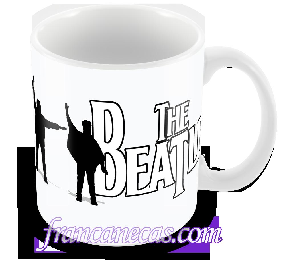 caneca personalizada the beatles
