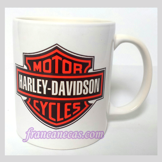 Caneca Personalizada Harley Davdson Cycles