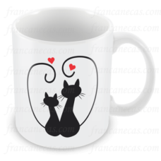 Caneca Personalizada Gato Preto