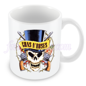 caneca personalizada Guns N' Roses