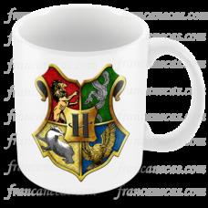 caneca personalizada harry potter hogwarts