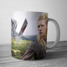 caneca personalizada vikings lagertha