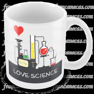 Caneca Personalizada Love Science
