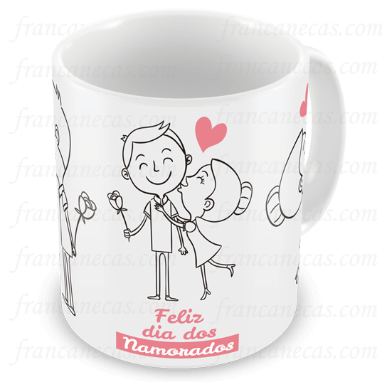 Caneca Personalizada Namorados Francanecascom Canecas
