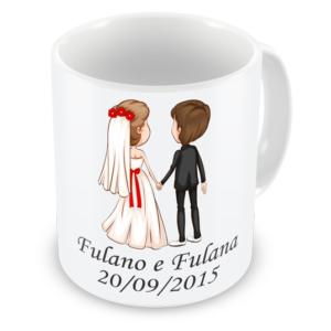 Caneca Personalizada Meu Casamento