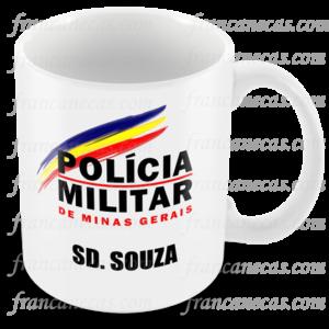 caneca policial militar mg