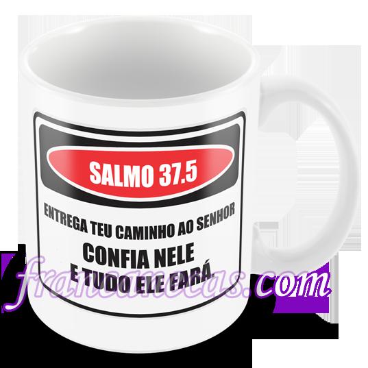 48a5c36dd Caneca Personalizada Salmo 37.5 - Francanecas.com - Canecas de ...