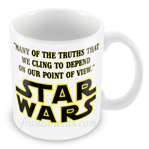 Caneca Personalizada Star Wars many of the truths