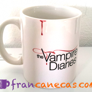 caneca personalizada the vampire diaries