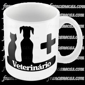 caneca personalizada veterinario